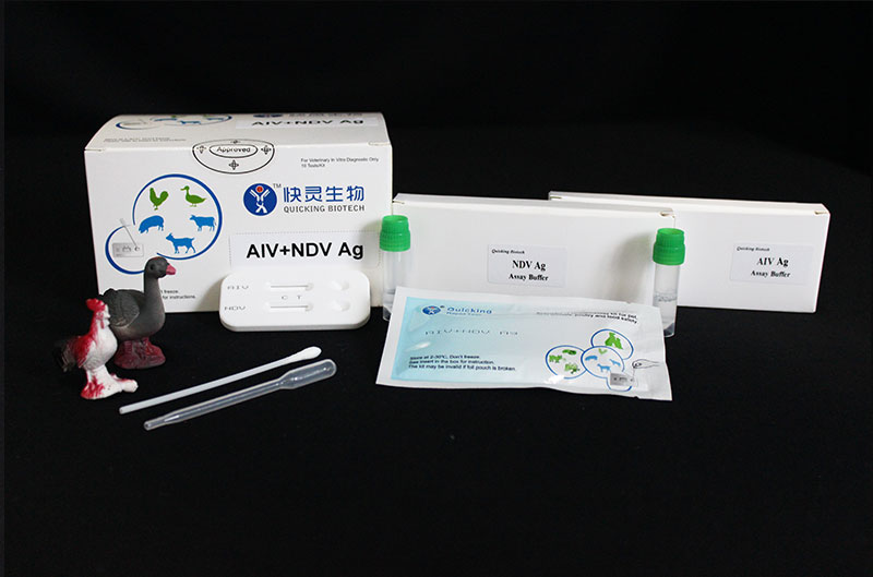 AIV+NDV Ag Combined Rapid Test ( W81070 )