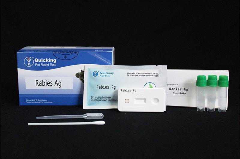 Rabies Virus Ag Rapid Test   (W81013)